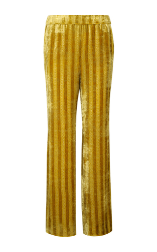 Medium dorothee schumacher yellow smooth flaunt pants