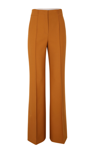 Medium dorothee schumacher orange sculptural energy high waisted pants