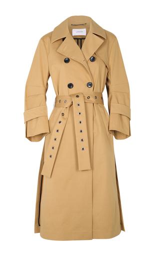 Medium dorothee schumacher neutral strong statement trench coat