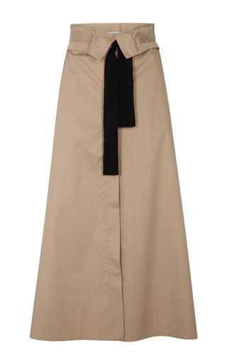 Medium dorothee schumacher neutral tie it up midi skirt