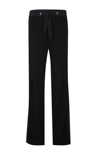 Medium dorothee schumacher black flowing softness pants
