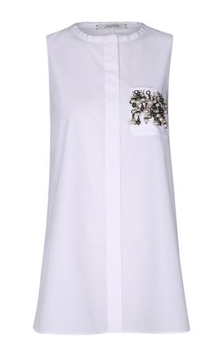 Medium dorothee schumacher white cool shake blouse