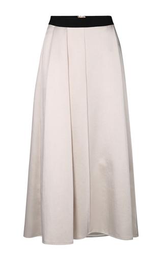 Medium dorothee schumacher black white broad shine a line skirt