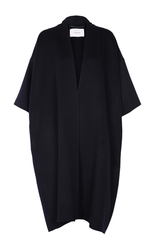 Medium dorothee schumacher navy whispers of wool coat