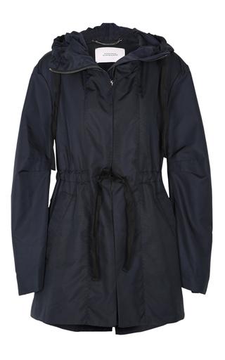 Medium dorothee schumacher navy sporty seduction hooded coat
