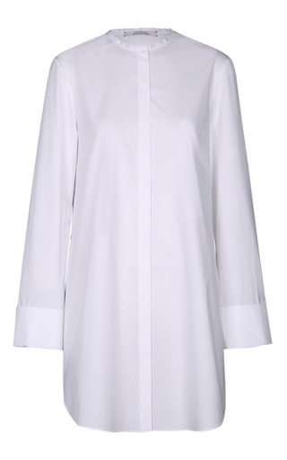 Medium dorothee schumacher white cool shake long sleeve tunic