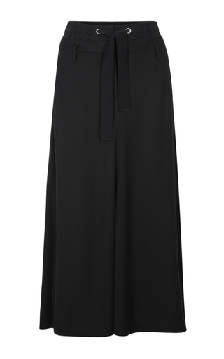 Medium dorothee schumacher black dancing movement tie skirt