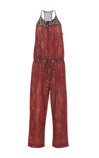 Medium sissa print bia sleeveless jumpsuit
