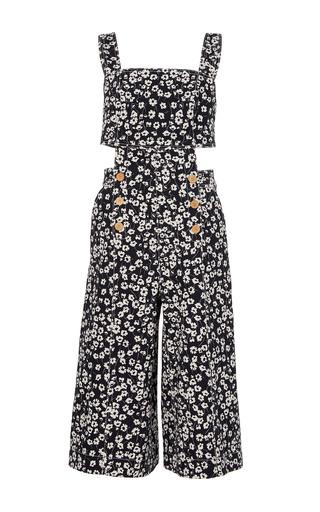 Medium sissa floral clara cutout jumpsuit