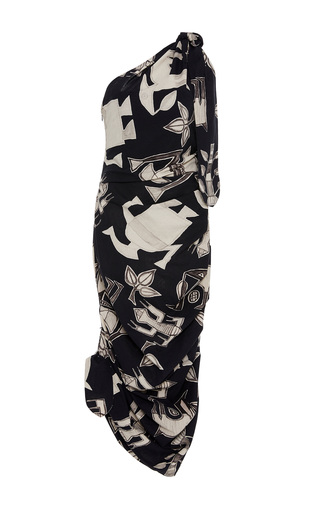 Medium sissa black laura one shoulder dress