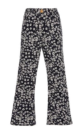 Medium sissa floral estela cropped trousers