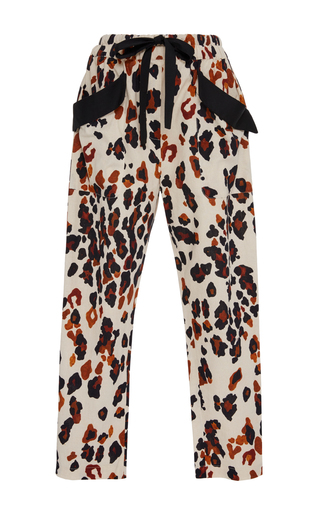 Medium sissa print teresa animal print trousers