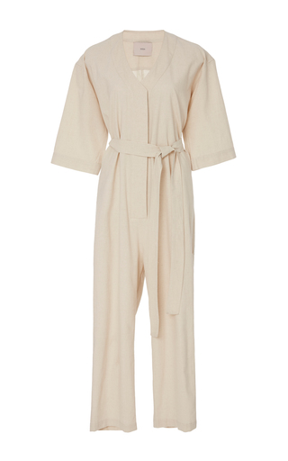 Medium sissa neutral marina jumpsuit