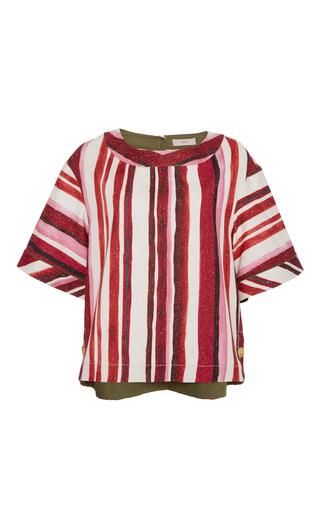 Medium sissa stripe marta stripe top