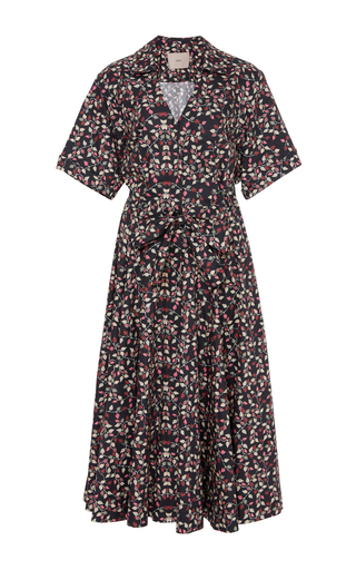 Medium sissa print rita printed shirt dress