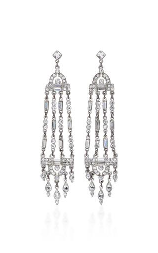 Medium ben amun silver antique silver crystal earring 2