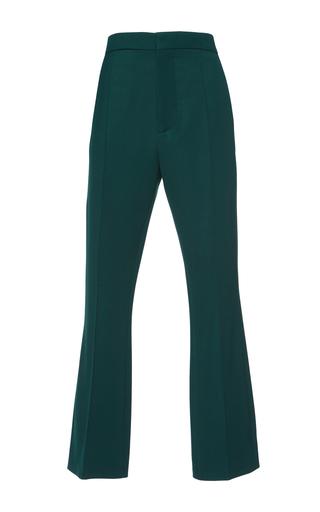 Medium marni green cropped trousers