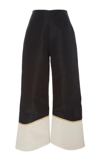 Medium johanna ortiz black white el viento color block pants