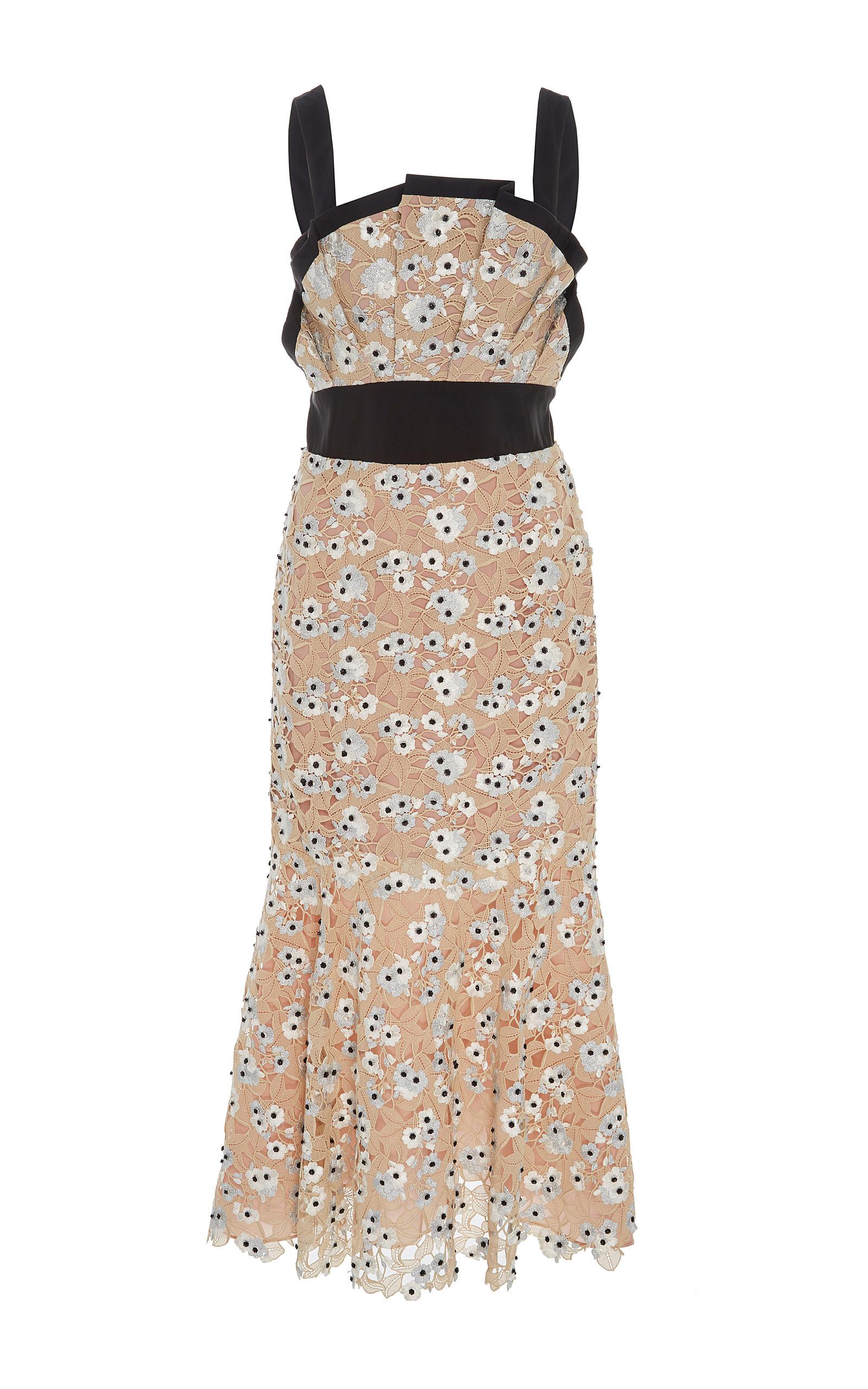 M O Exclusive Birth Of Venus Midi Dress By Johanna Moda