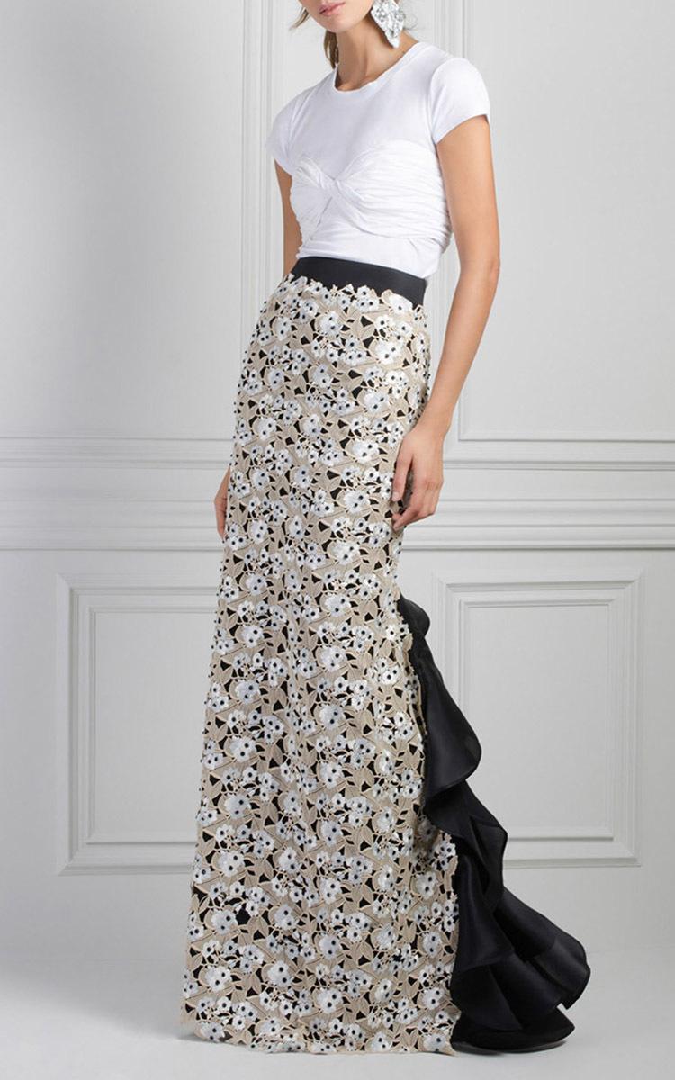 Capecod Column Skirt By Johanna Ortiz Moda Operandi