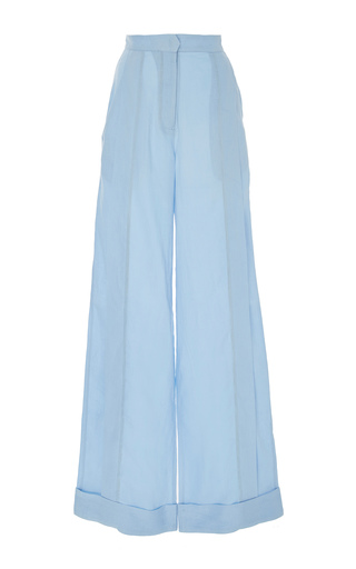 Medium johanna ortiz blue bonita wide leg pants