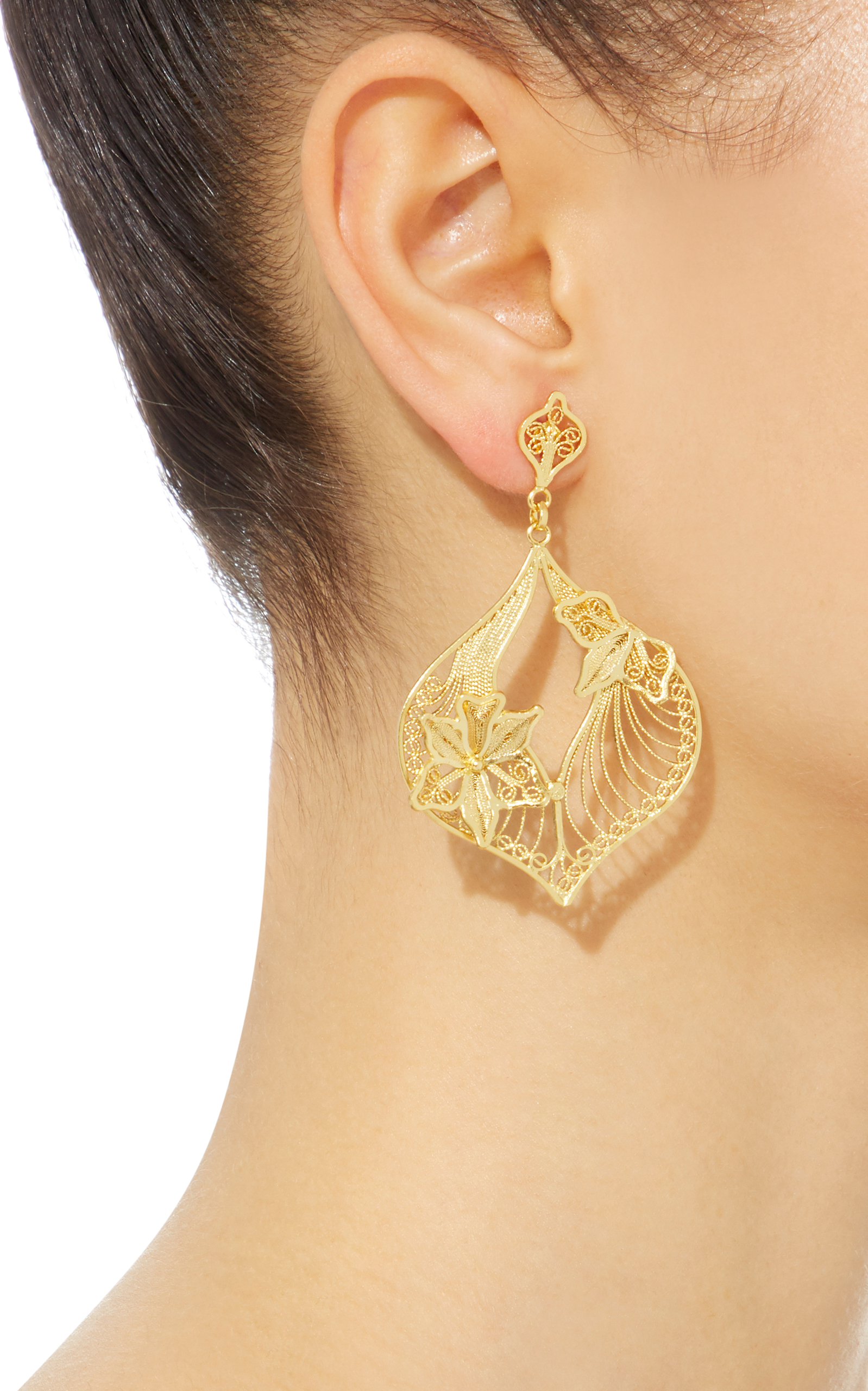 Moda operandi clara chandelier earrings by mallarino jewelryearringsclara chandelier earrings close loading arubaitofo Images