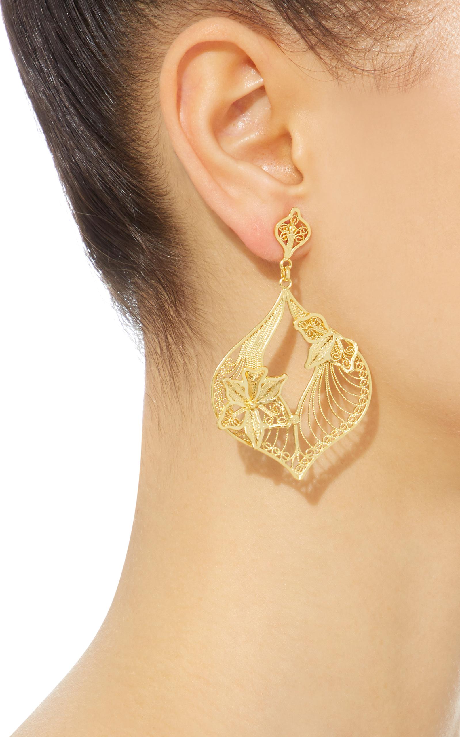 Clara chandelier earrings by mallarino moda operandi loading arubaitofo Images