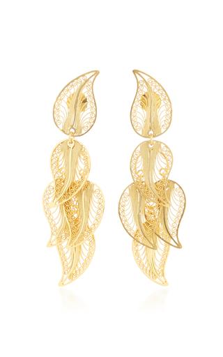 Medium mallarino gold eva chandelier earrings