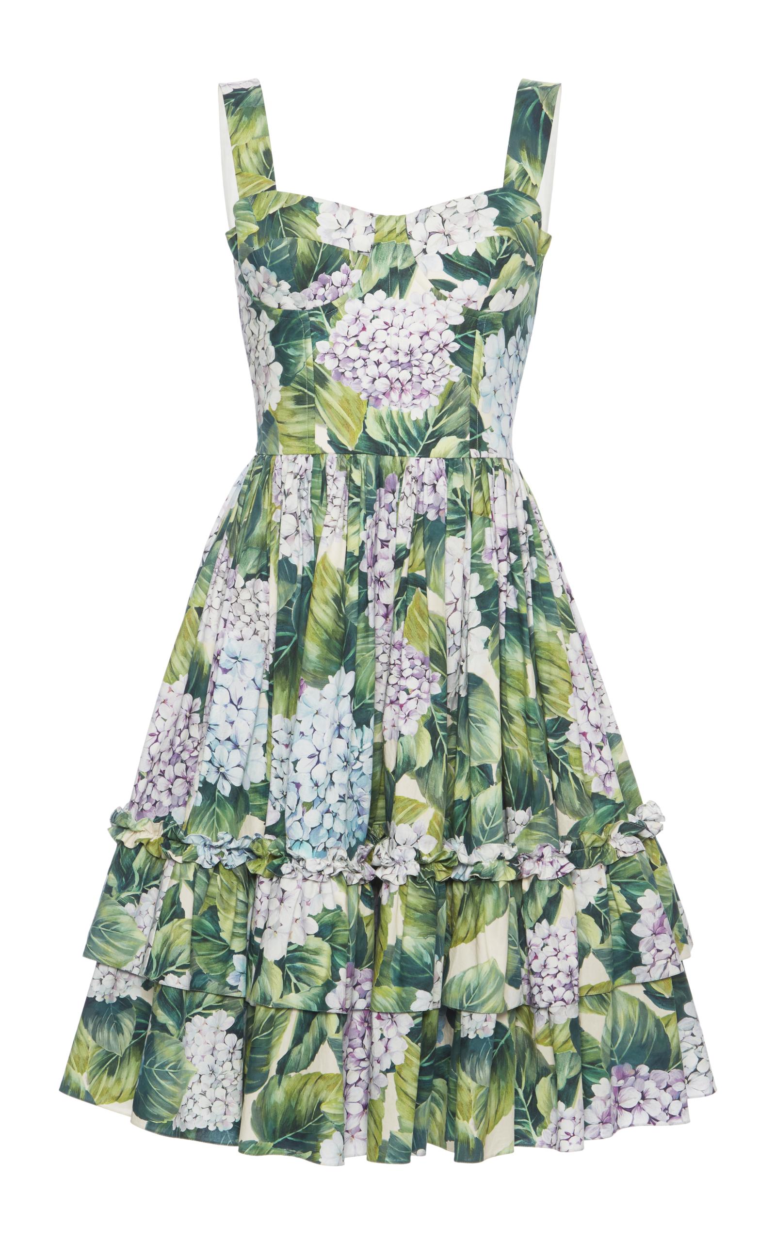 Discount Cost Dolce & Gabbana floral-print dress Clearance Best Place SfcKk
