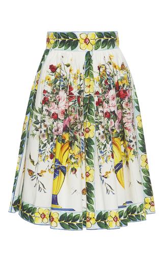 Medium dolce gabbana print floral print cotton skirt