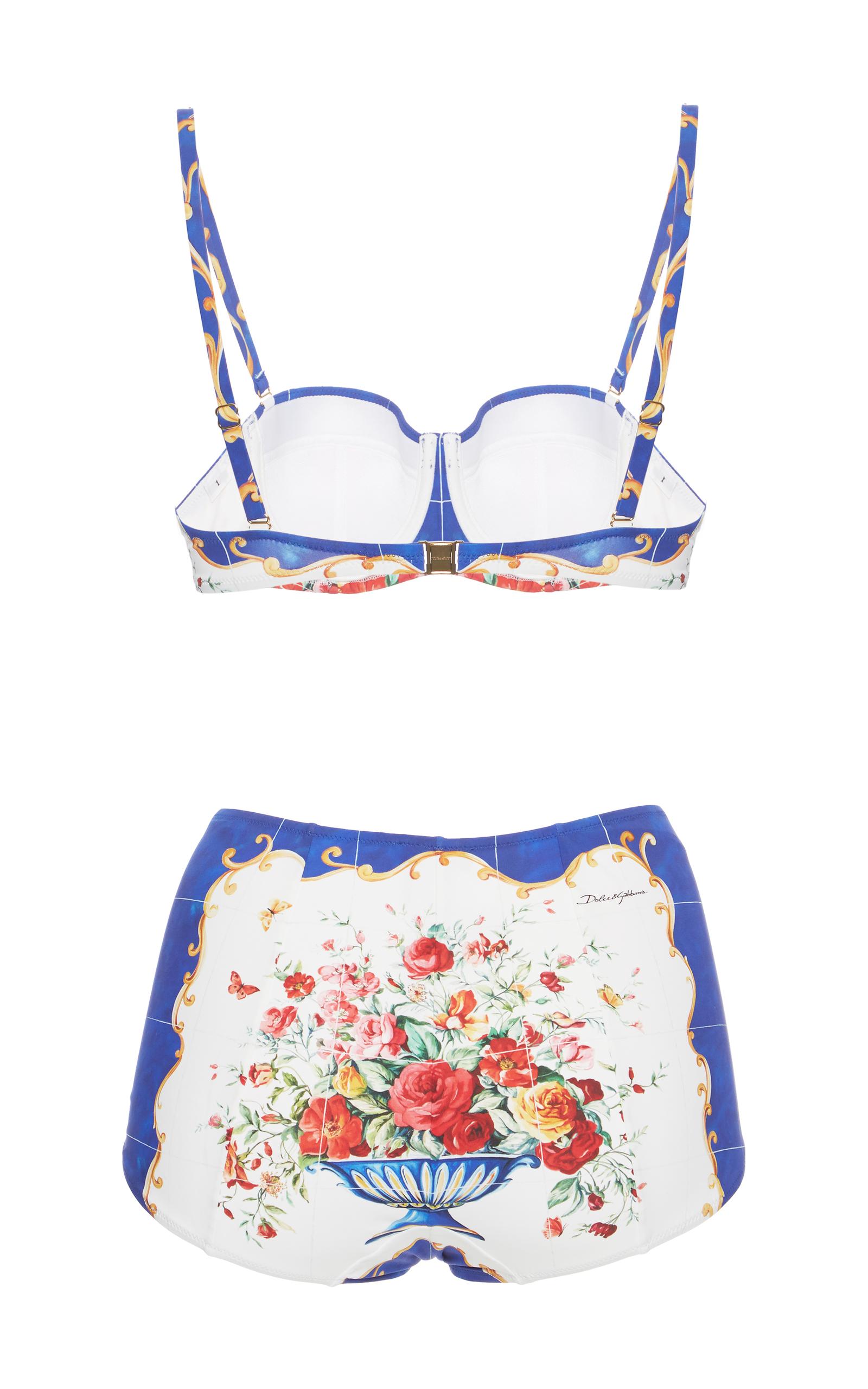 46e2a89aa6 Dolce   GabbanaPrinted Bikini Set. CLOSE. Loading. Loading