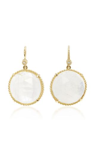 Medium lauren k white sasha earrings
