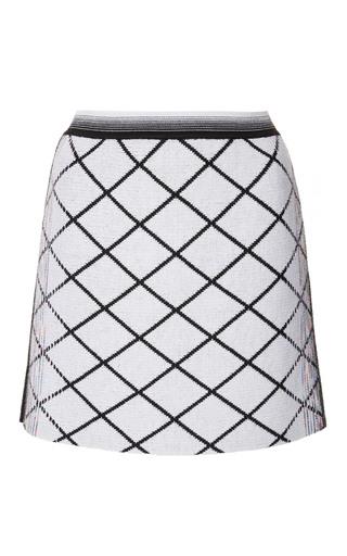 Medium missoni black white check mini skirt