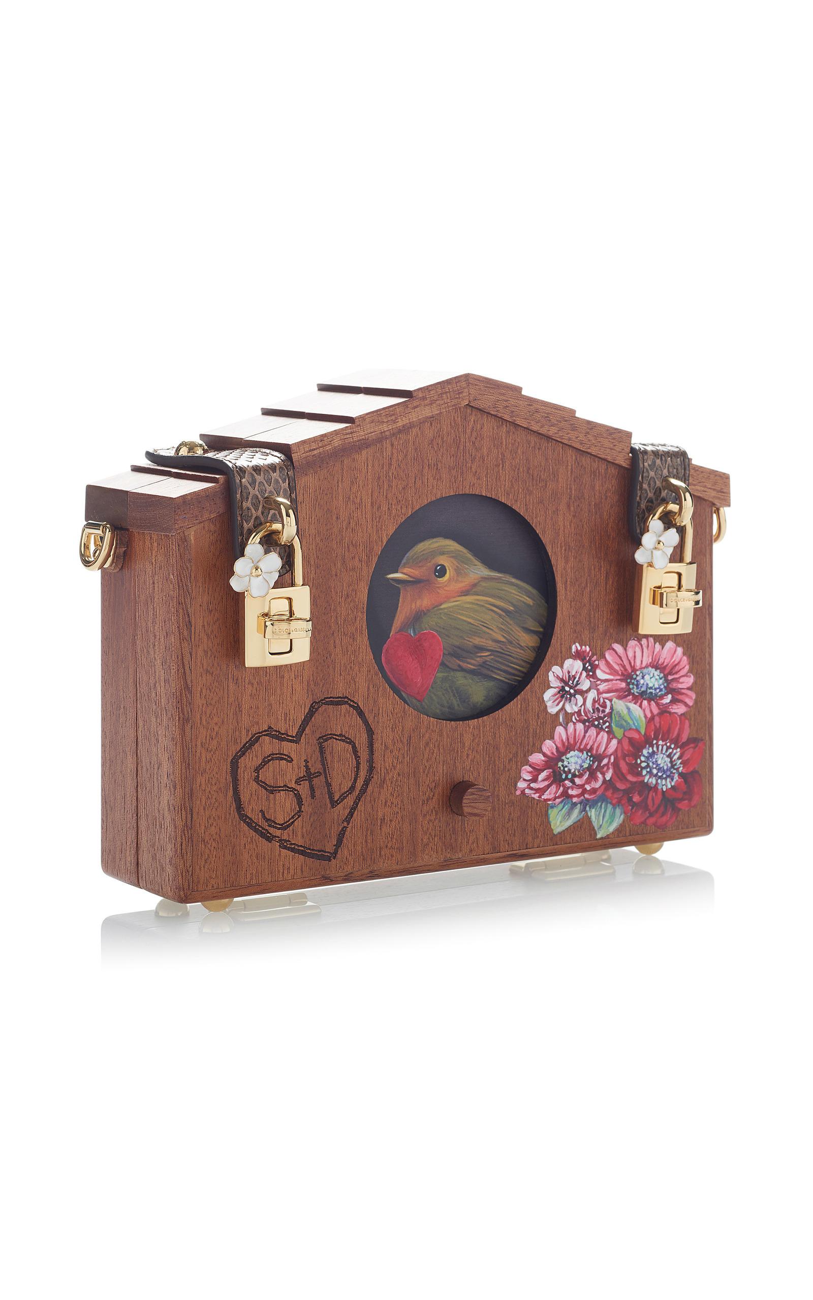 Embellished Wood Shoulder Bag by Dolce   Gabbana  989c5bd2b85ac