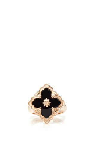 Medium buccellati black opera onyx ring