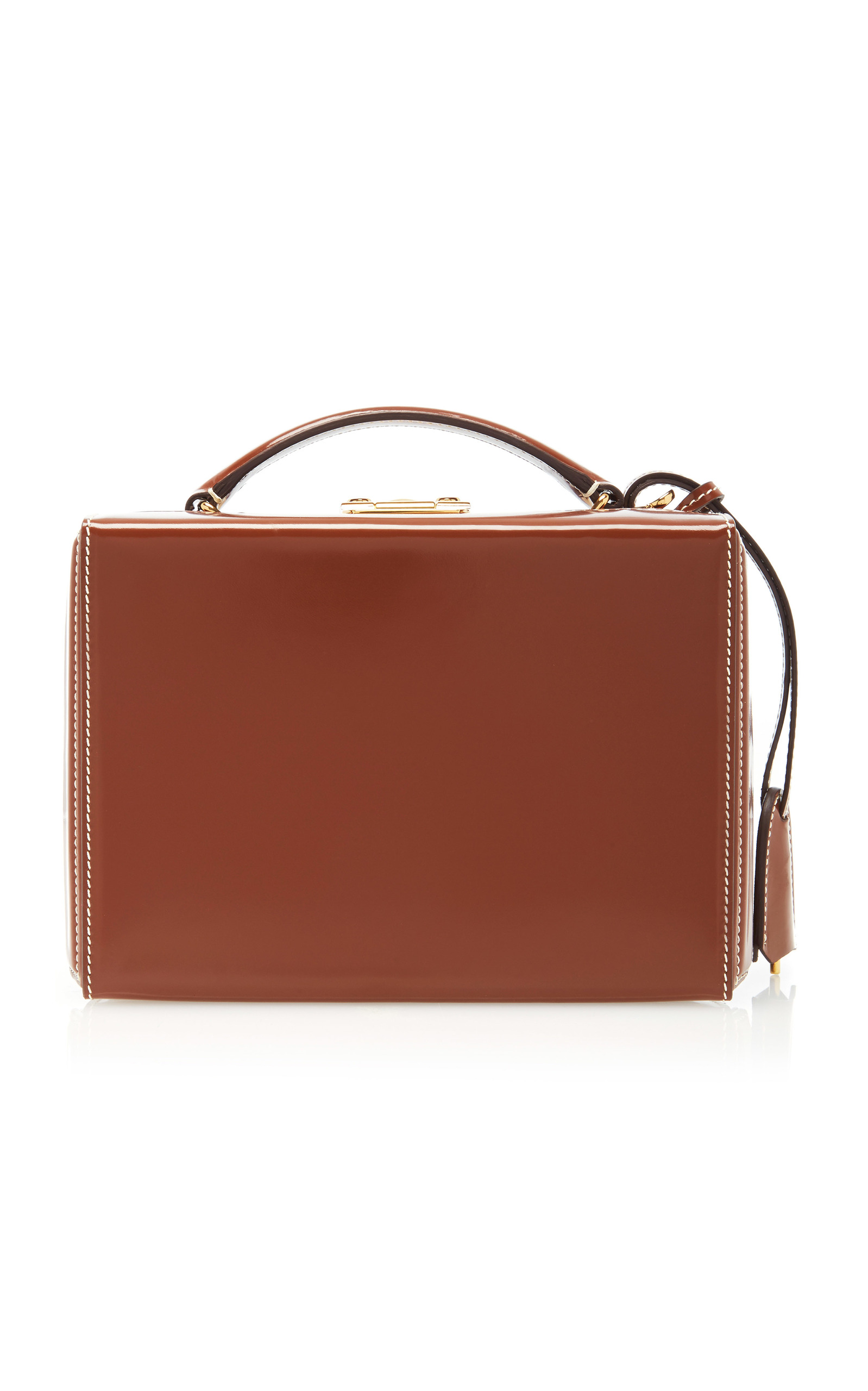 b4b77af624f6 Mark CrossGrace Small Leather Box Bag. CLOSE. Loading