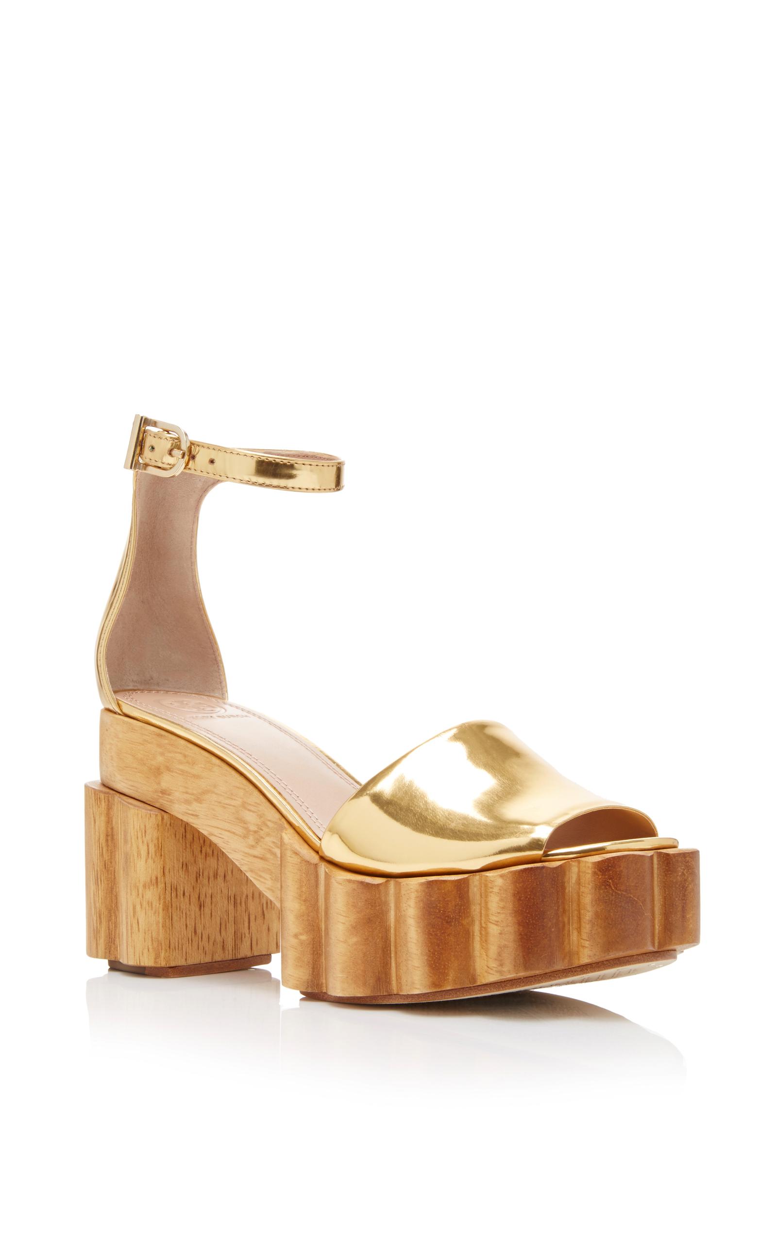 9577174259a0 Tory BurchAlma Metallic Platform Sandal. CLOSE. Loading. Loading. Loading.  Loading