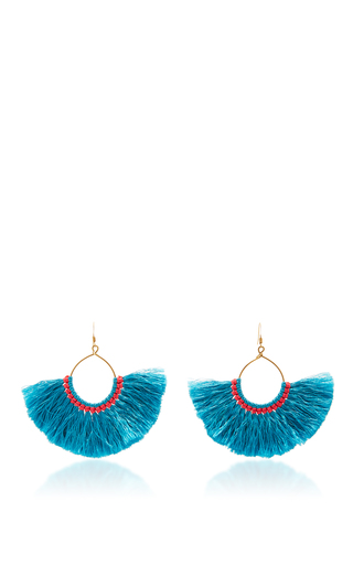 Medium figue blue gypsy earring