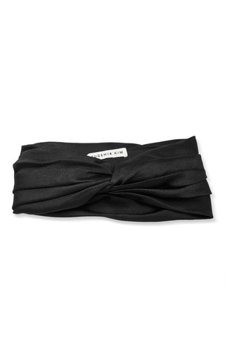 Medium eugenia kim black malia headband