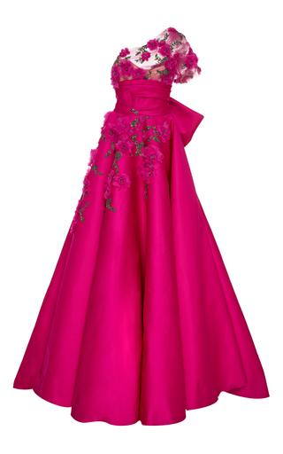 Medium marchesa pink one shoulder ball gown