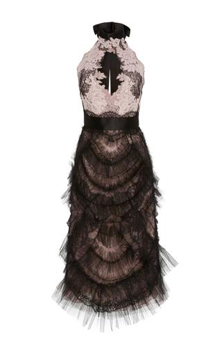 Medium marchesa multi ruffle tulle dress