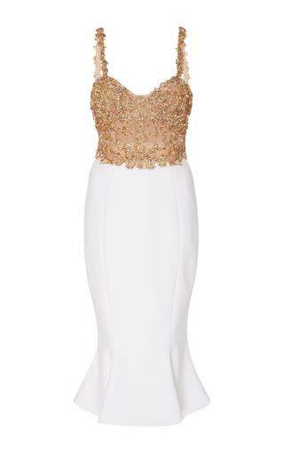 Medium marchesa multi beaded sleeveless dress