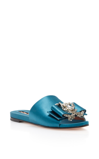 Medium rochas blue bonita sandal