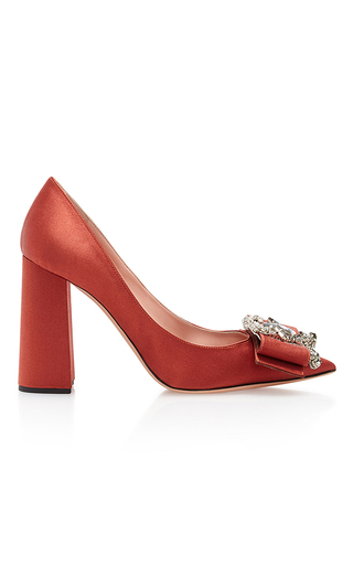 Medium rochas orange pompei pump 2