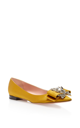 Medium rochas yellow caines flat