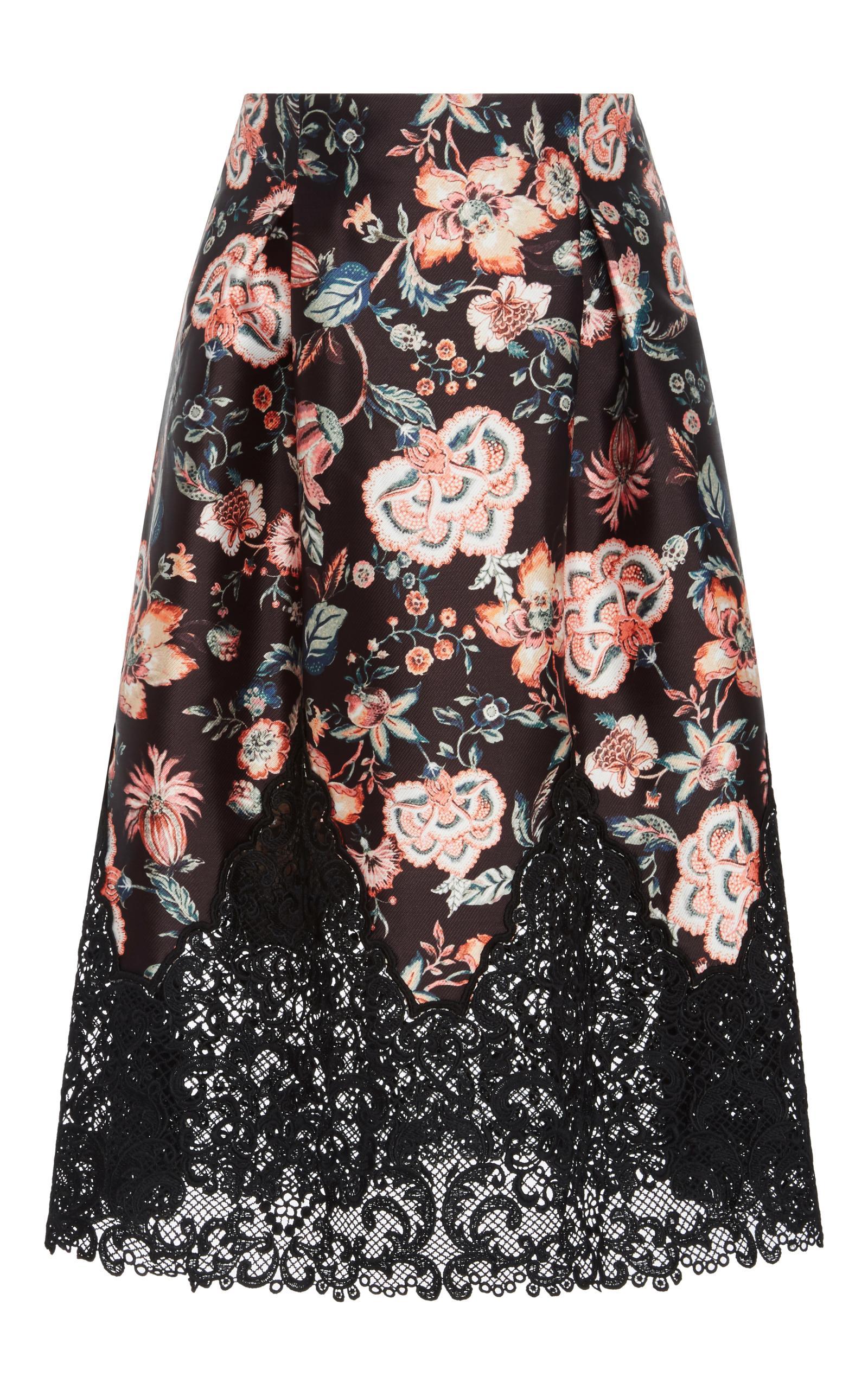 4657b0cd4 Bonnie Lace Trim Skirt by Sachin & Babi | Moda Operandi