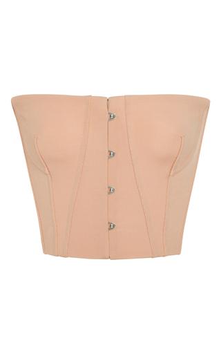 Medium jonathan simkhai pink bodycon elastania corset top