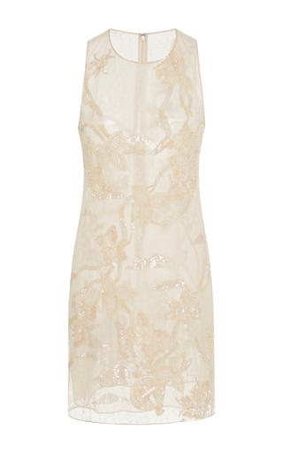 Medium jonathan simkhai pink crystal lace mini dress
