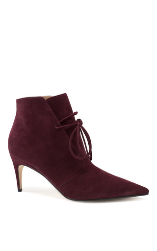Medium sergio rossi burgundy the jenna bootie 2