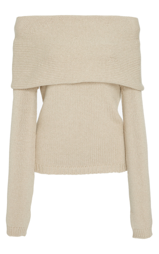 Medium rosetta getty neutral banded pullover